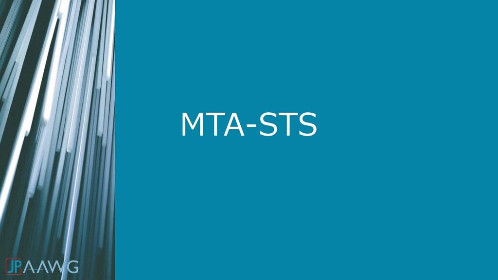 MTA-STS