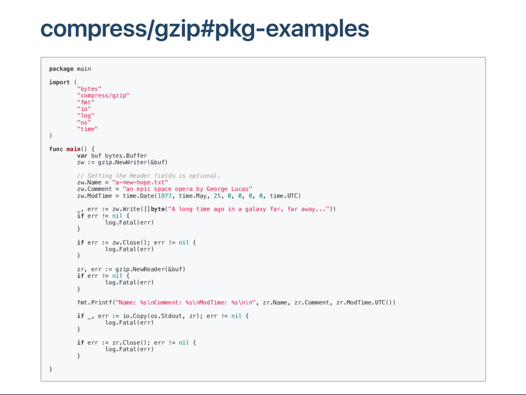 compress/gzip#pkg‑examples p a c k a g e m a i ...