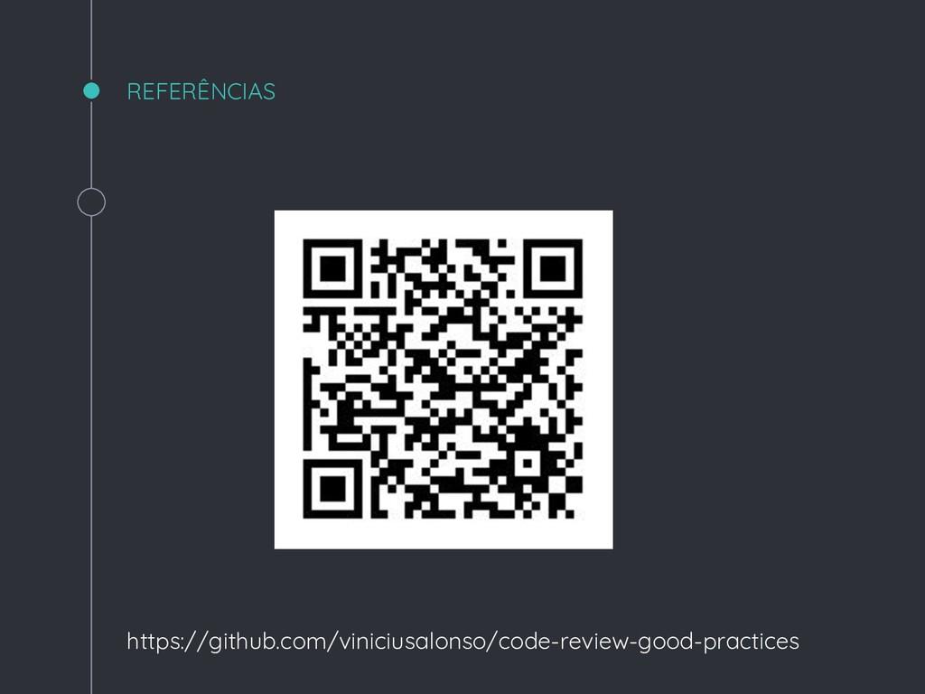 REFERÊNCIAS https://github.com/viniciusalonso/c...
