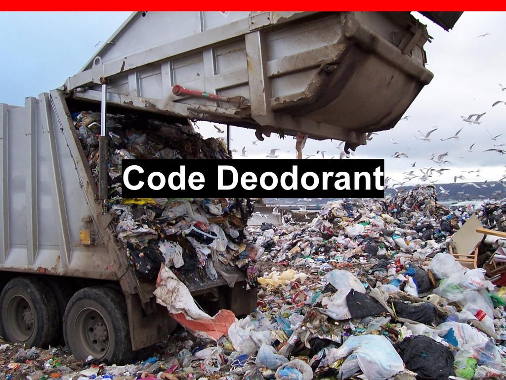 Code Deodorant