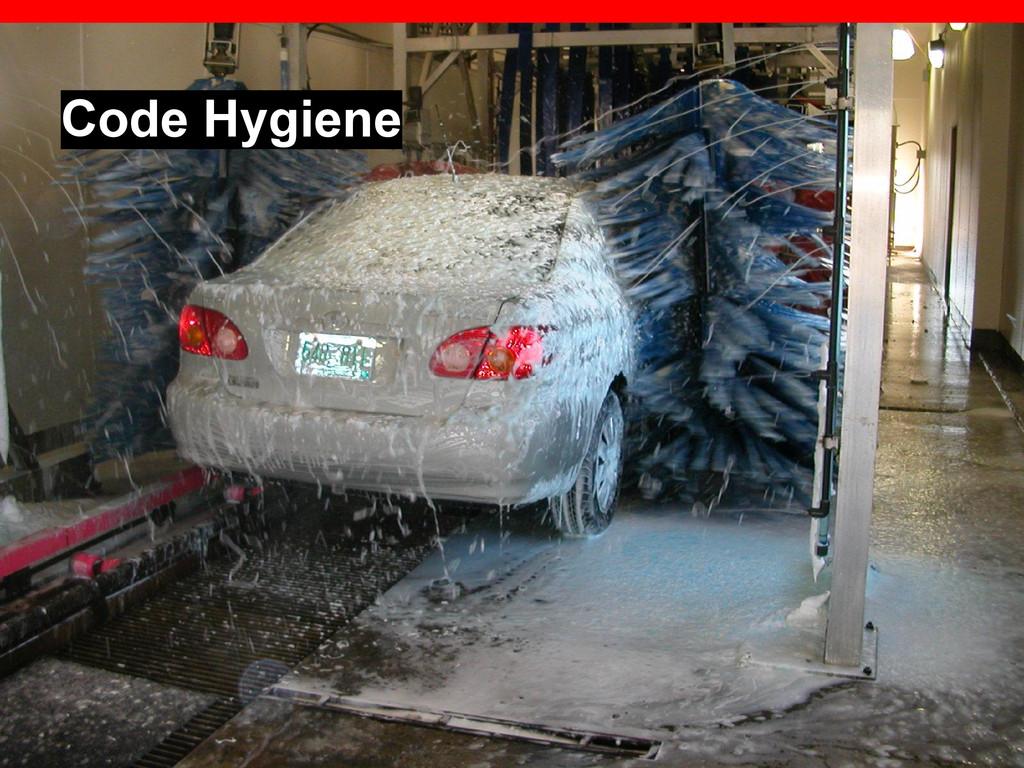Code Hygiene