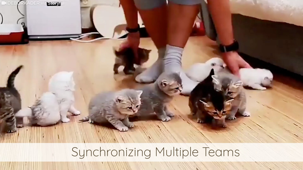 Synchronizing Multiple Teams