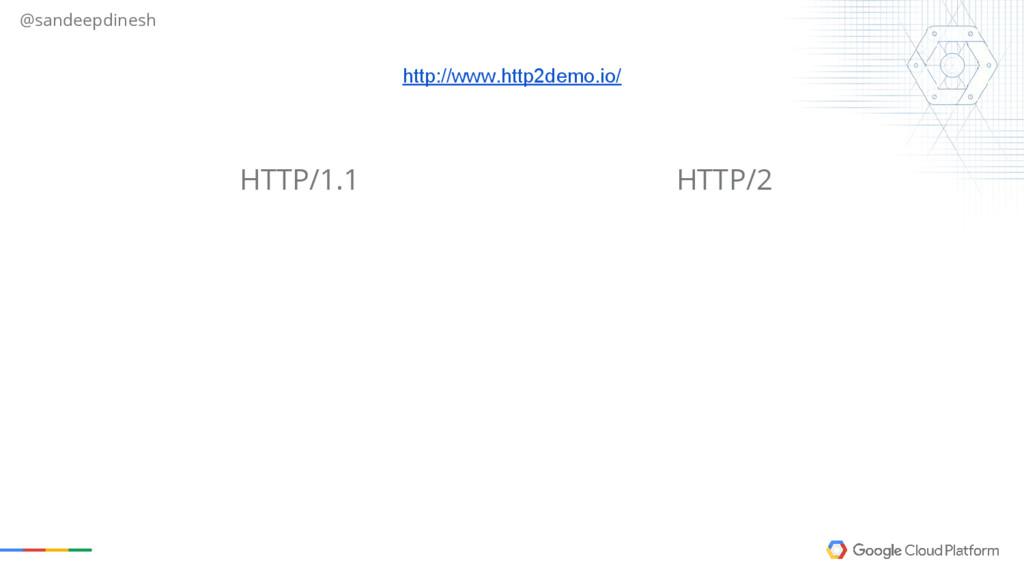 @sandeepdinesh HTTP/2 HTTP/1.1 http://www.http2...