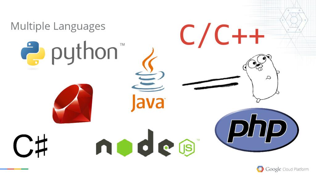 Multiple Languages C/C++