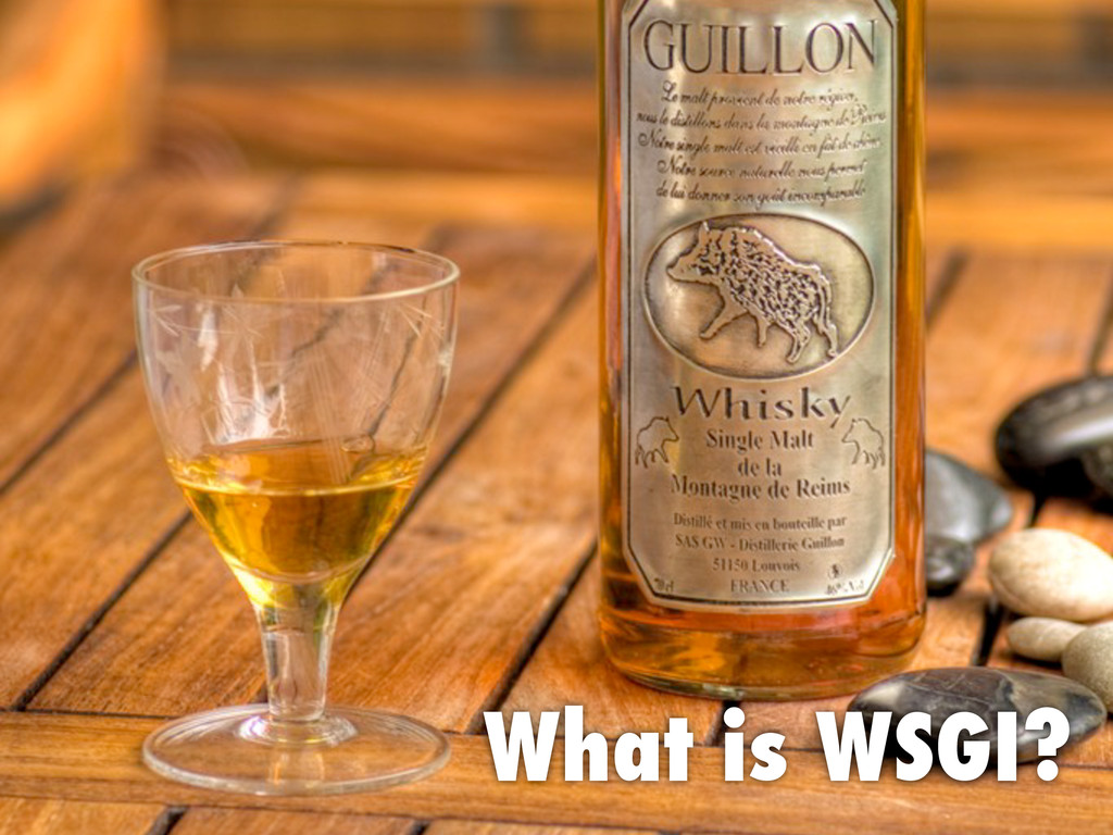What is WSGI?