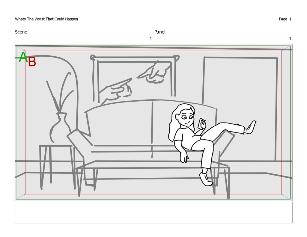 Scene 1 Panel 1 Whats The Worst That Could Happ...
