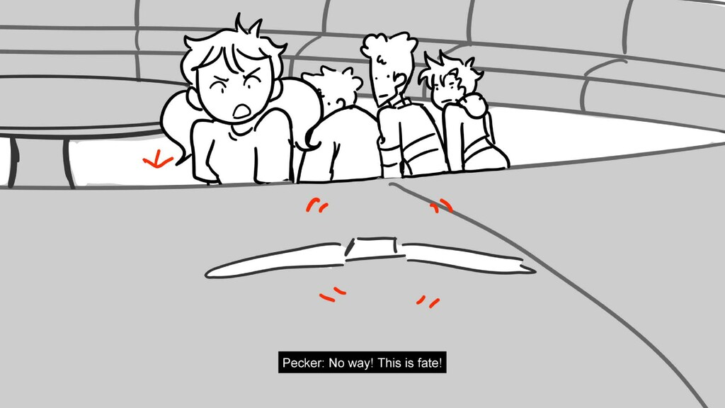 Scene 18 Panel 5 Dialog Pecker: No way! This is...