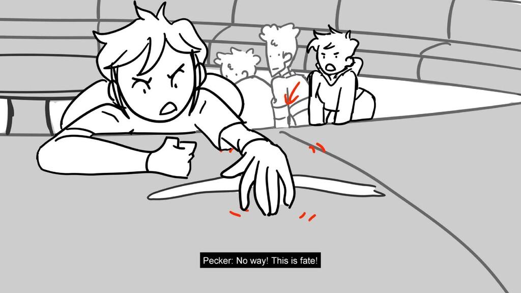 Scene 18 Panel 6 Dialog Pecker: No way! This is...