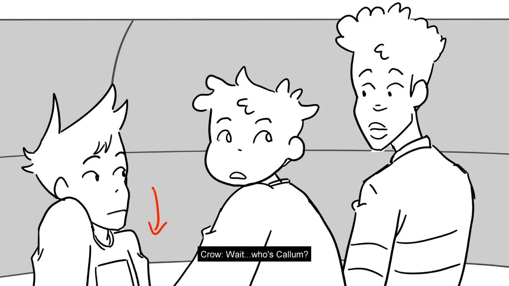 Scene 20 Panel 6 Dialog Jay: Rooster? Maybe? Pa...