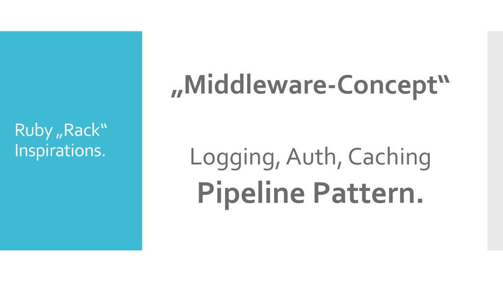 "Ruby ""Rack"" Inspirations. ""Middleware-Concept"" ..."