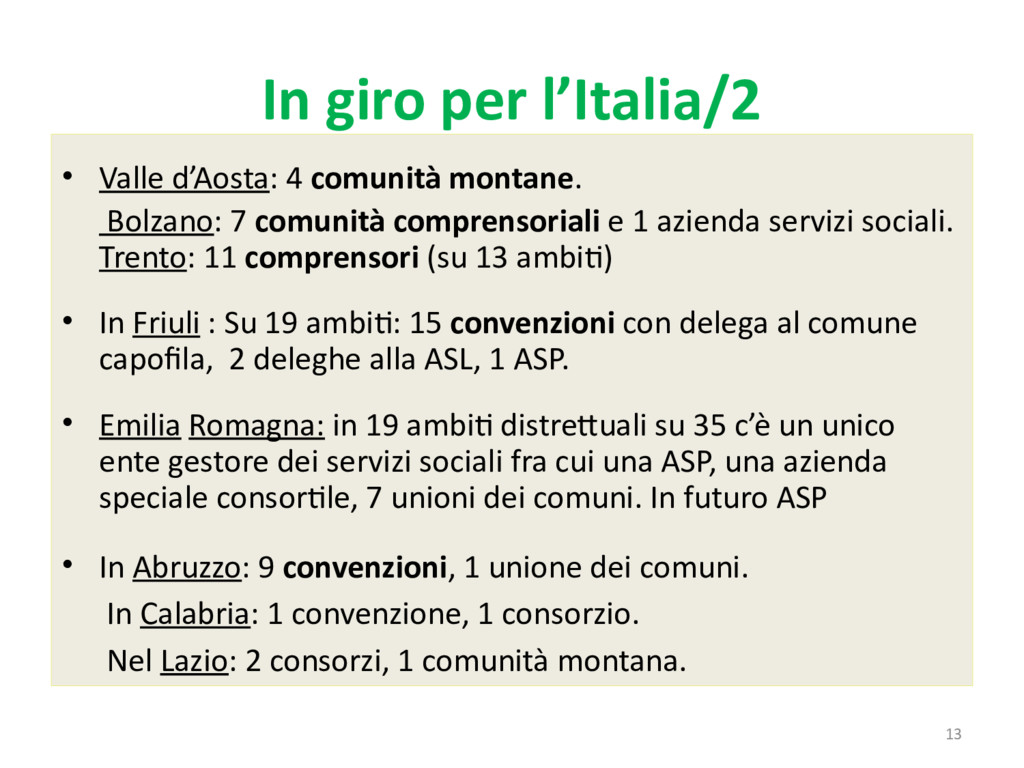 13 In giro per l'Italia/2 • Valle d'Aosta: 4 co...