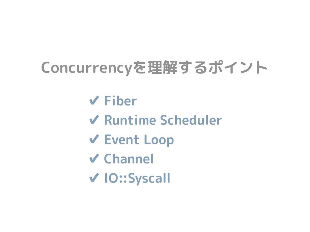 ✔ Fiber ✔ Runtime Scheduler ✔ Event Loop ✔ Ch...