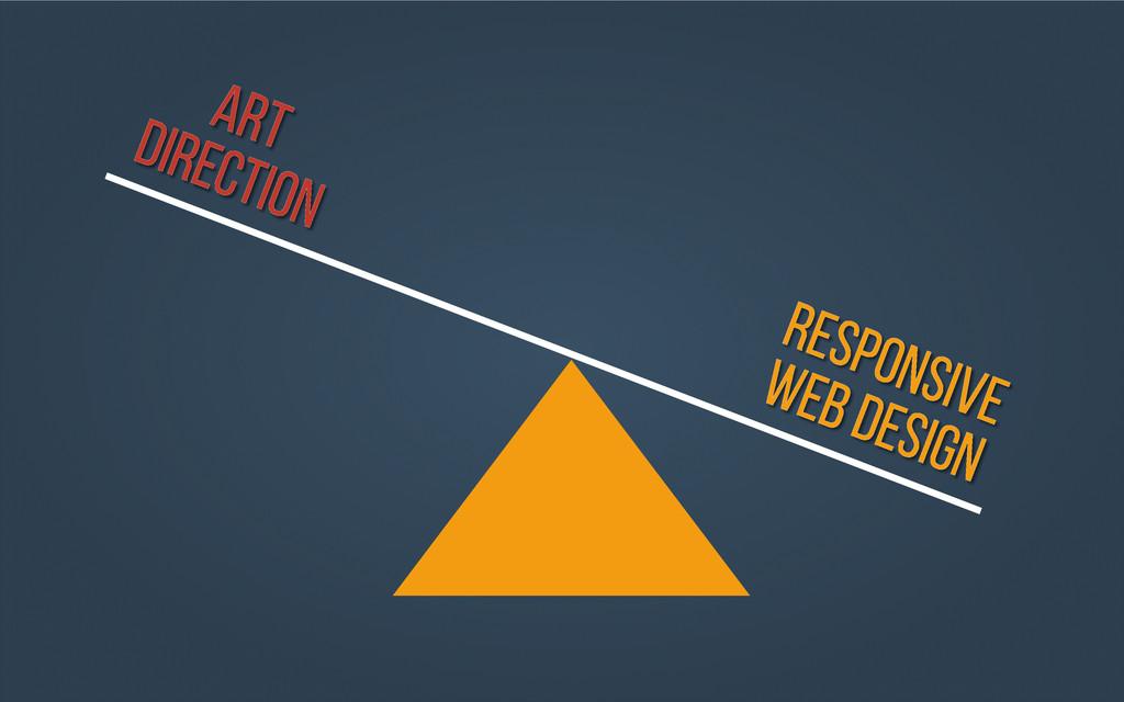 ART Direction RESPONSIVE WEB Design