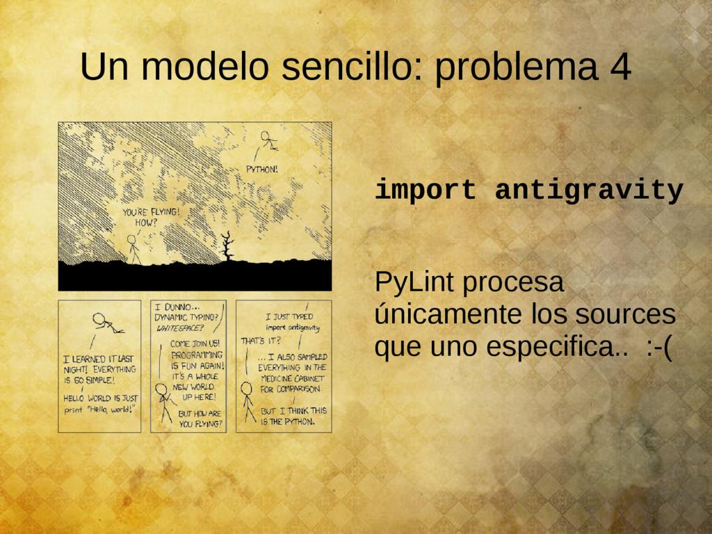 Un modelo sencillo: problema 4 import antigravi...
