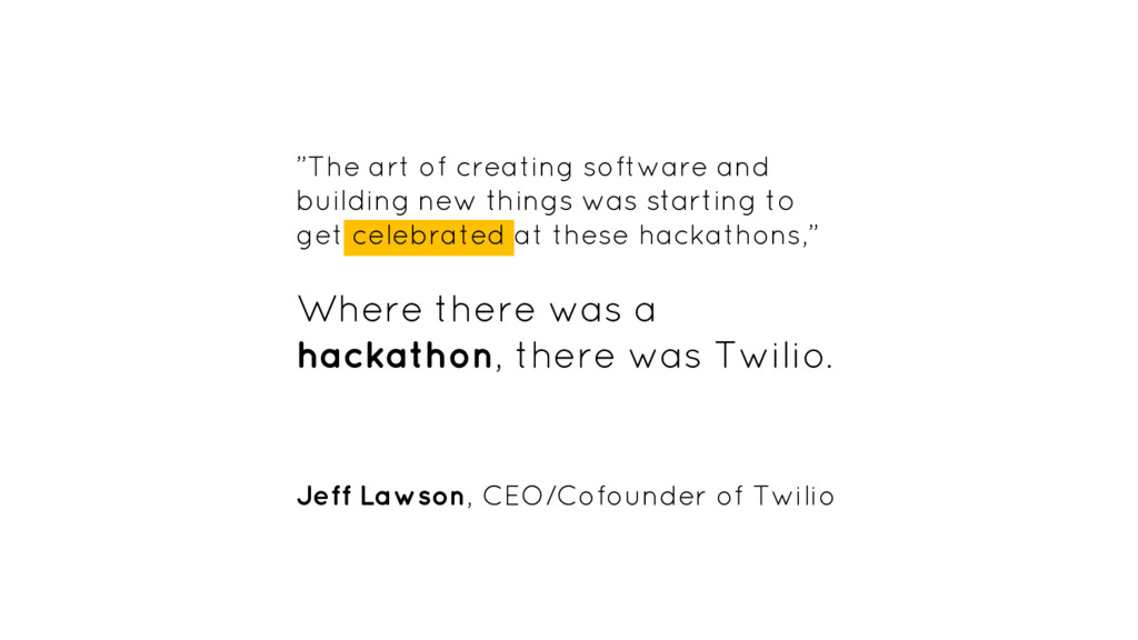 """""""The art of creating software and building new ..."""