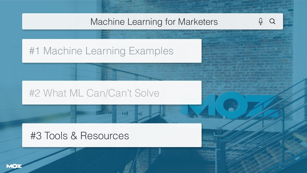 #1 Machine Learning Examples #2 What ML Can/Can...