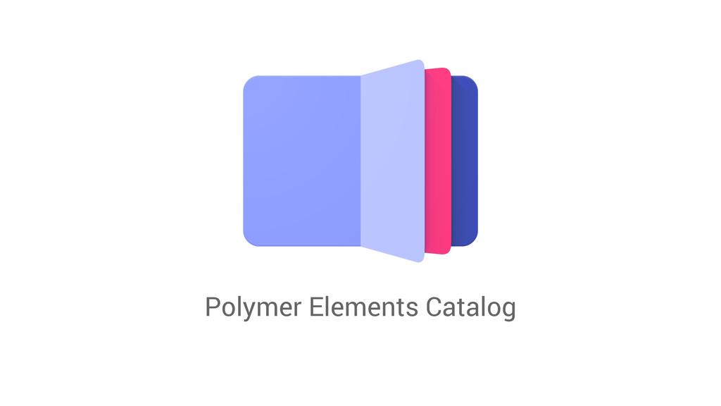 Polymer Elements Catalog