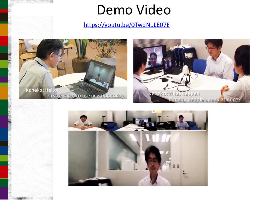 Demo Video https://youtu.be/0TwdNuLE07E
