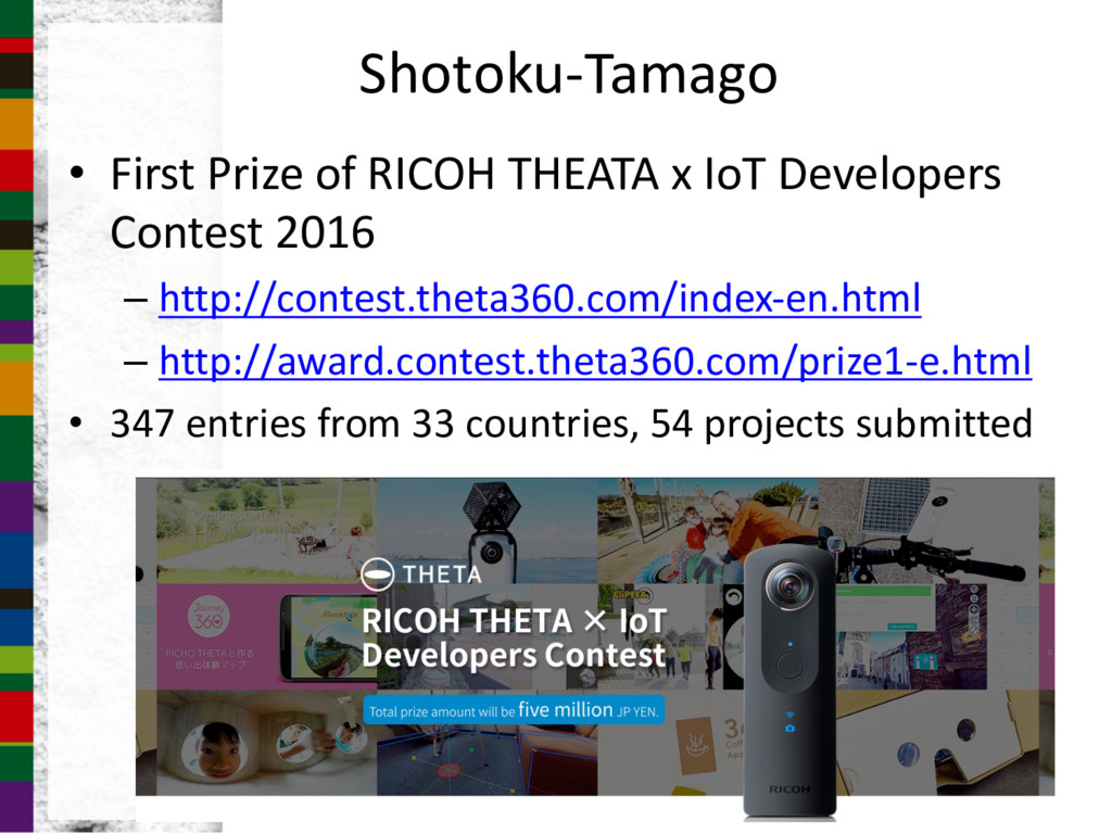Shotoku-Tamago • First Prize of RICOH THEATA x ...