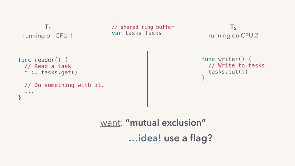 func reader() {