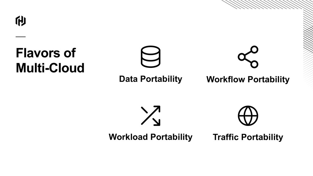 Flavors of Multi-Cloud Data Portability Workloa...