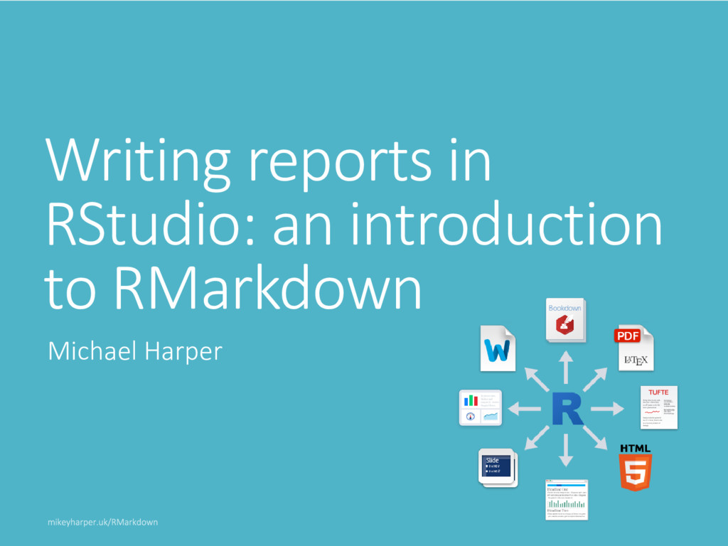 Writing reports in RStudio: an introduction to ...