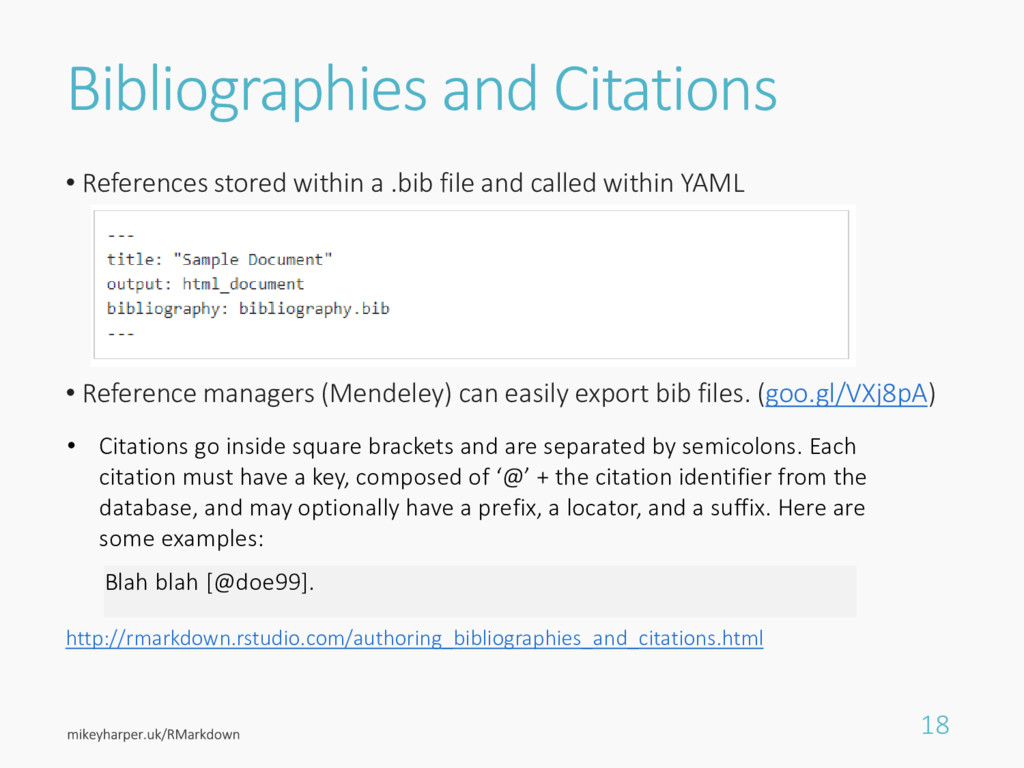 Bibliographies and Citations • References store...