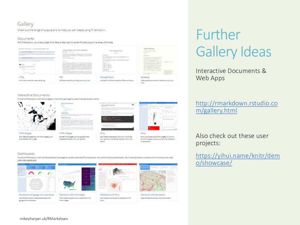 Further Gallery Ideas Interactive Documents & W...
