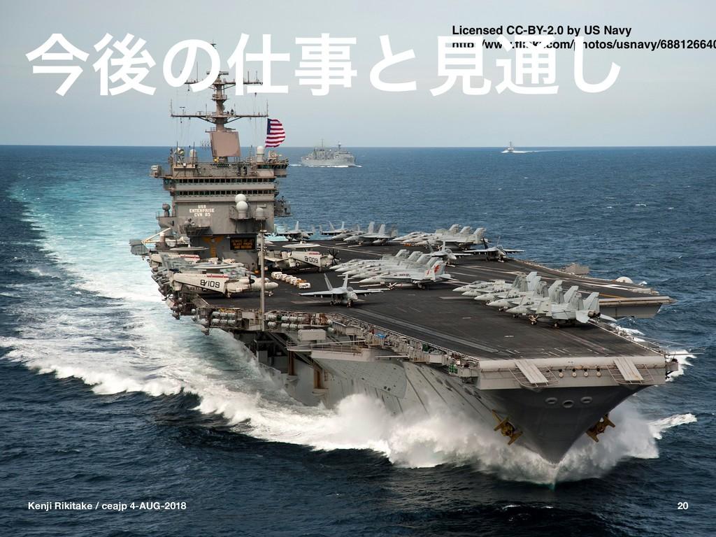 ࠓޙͷͱݟ௨͠ Kenji Rikitake / ceajp 4-AUG-2018 20