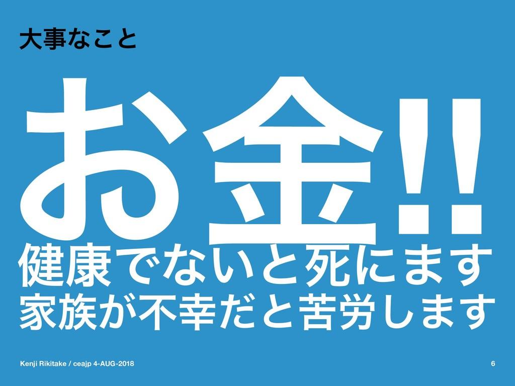 େͳ͜ͱ ͓ۚ!! ݈߁Ͱͳ͍ͱࢮʹ·͢ Ո͕ෆͩͱۤ࿑͠·͢ Kenji Rikita...