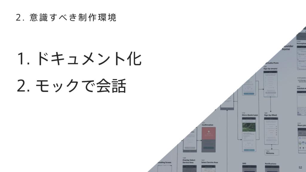 52 υΩϡϝϯτԽ ϞοΫͰձ  ҙ੍͖ࣝ͢࡞ڥ