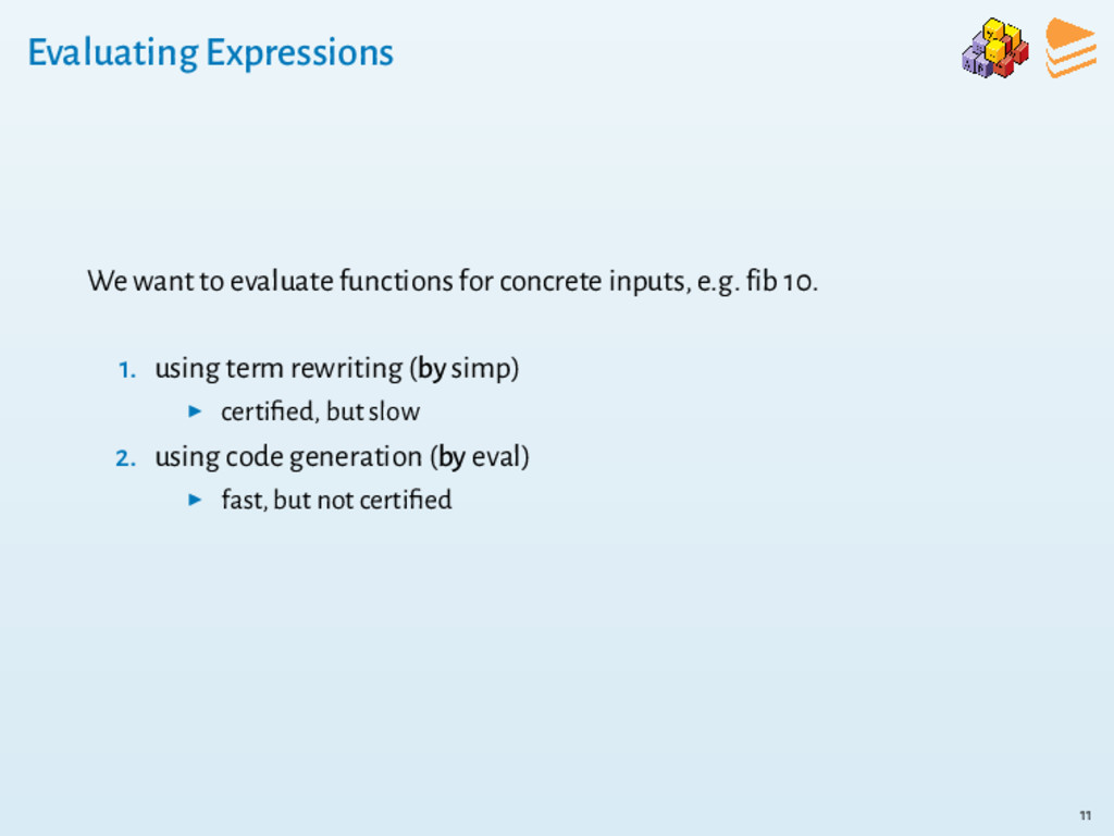 Evaluating Expressions We want to evaluate func...