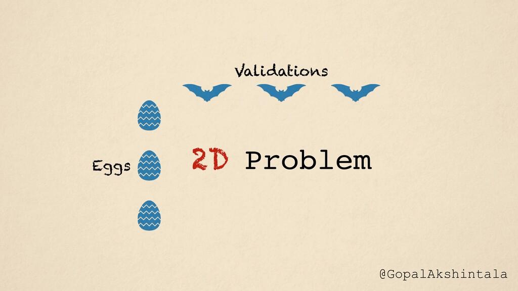 @GopalAkshintala 2D Problem Eggs Validations