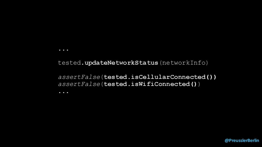 @PreusslerBerlin ... tested.updateNetworkStatus...