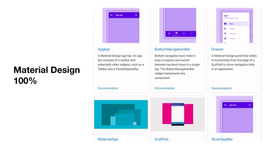 Material Design 100%