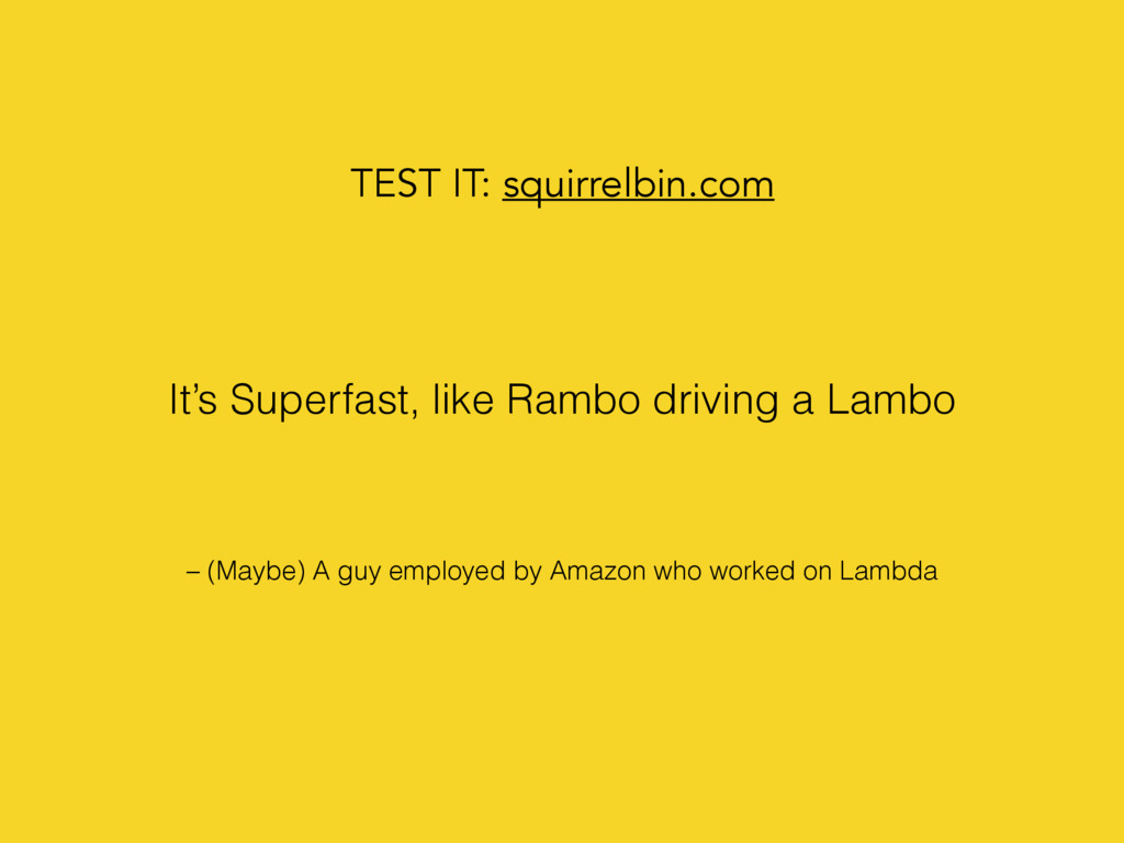 – (Maybe) A guy employed by Amazon who worked o...