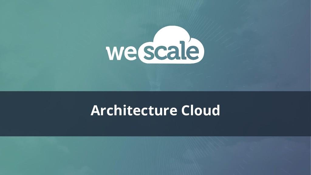 Architecture Cloud