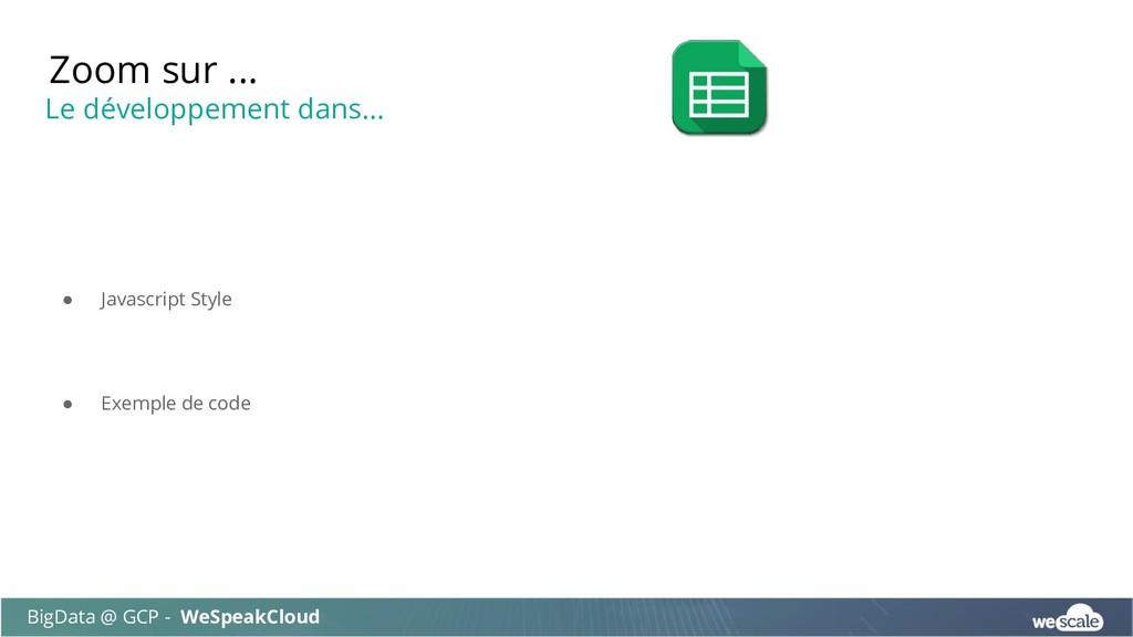 ● Javascript Style ● Exemple de code Zoom sur ....
