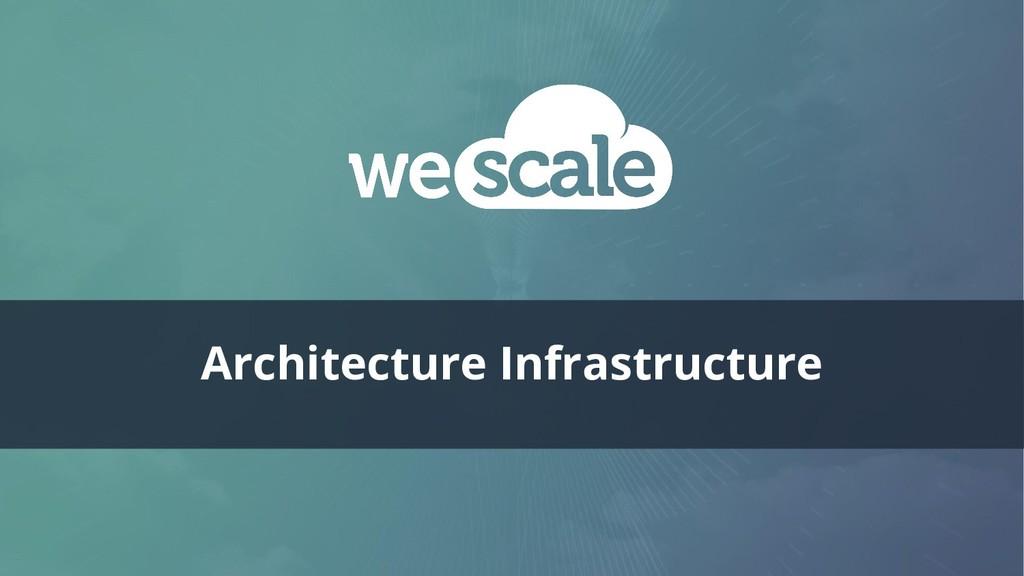 Architecture Infrastructure