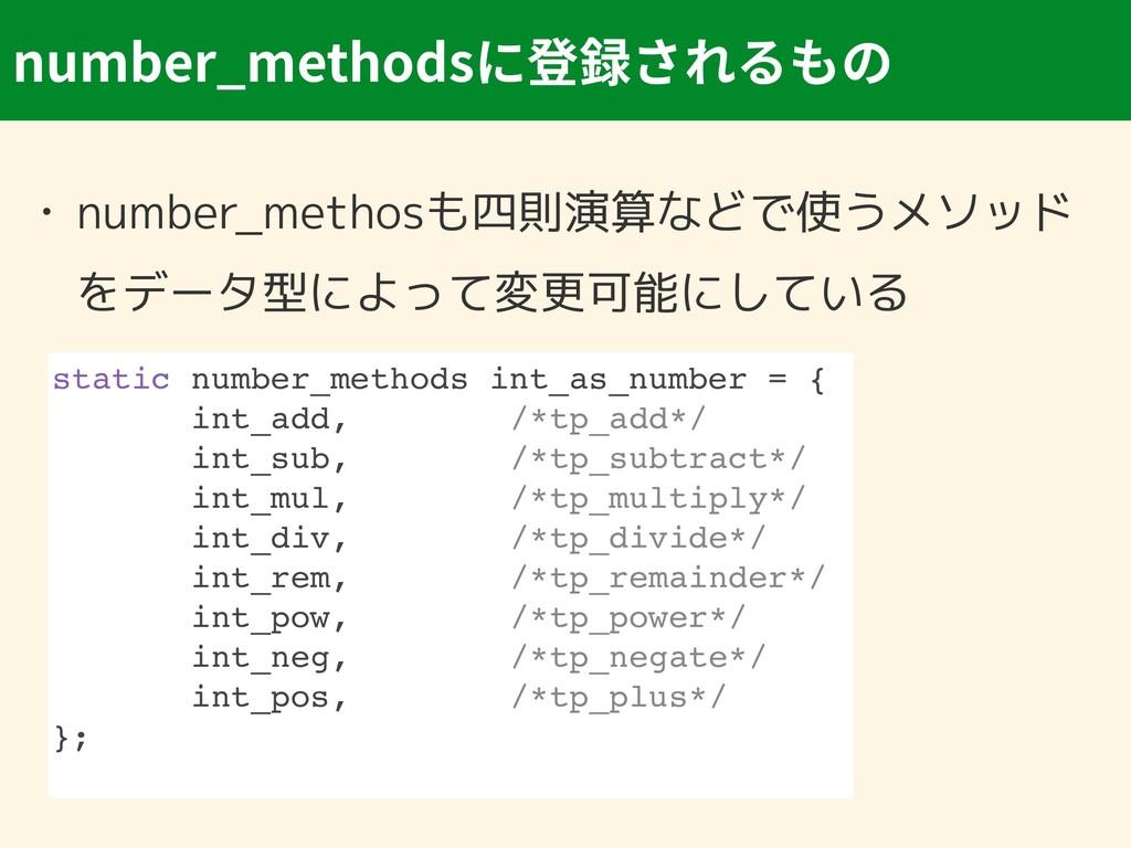 number_methods • number_methosも四則演算などで使うメソッド をデ...