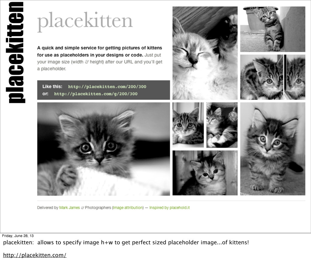 placekitten Friday, June 28, 13 placekitten: al...