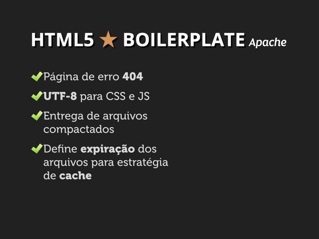Página de erro 404 UTF-8 para CSS e JS Entrega ...