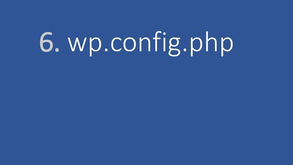 6. wp.config.php