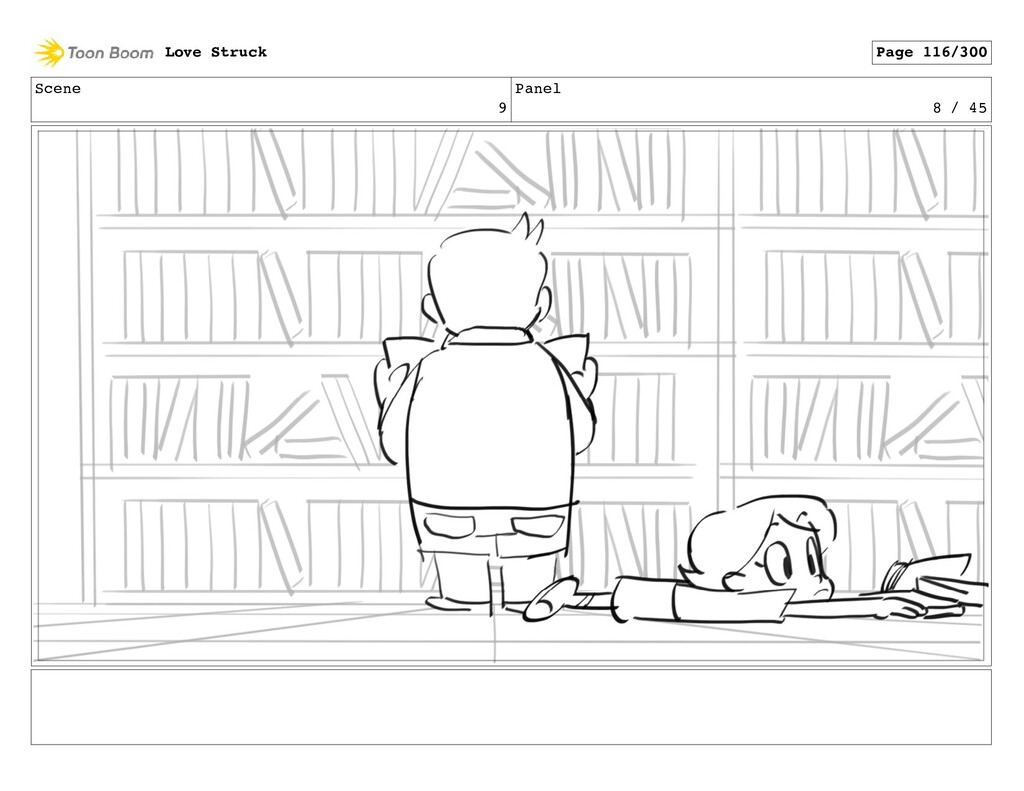 Scene 9 Panel 8 / 45 Love Struck Page 116/300
