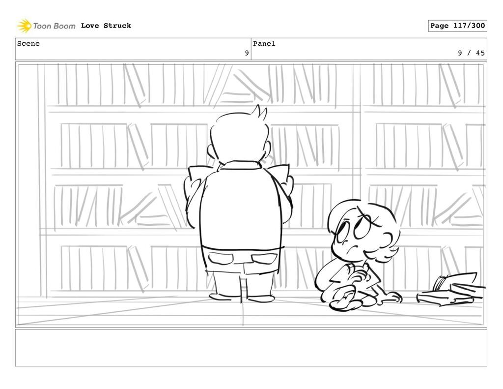 Scene 9 Panel 9 / 45 Love Struck Page 117/300