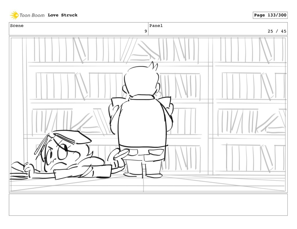 Scene 9 Panel 25 / 45 Love Struck Page 133/300