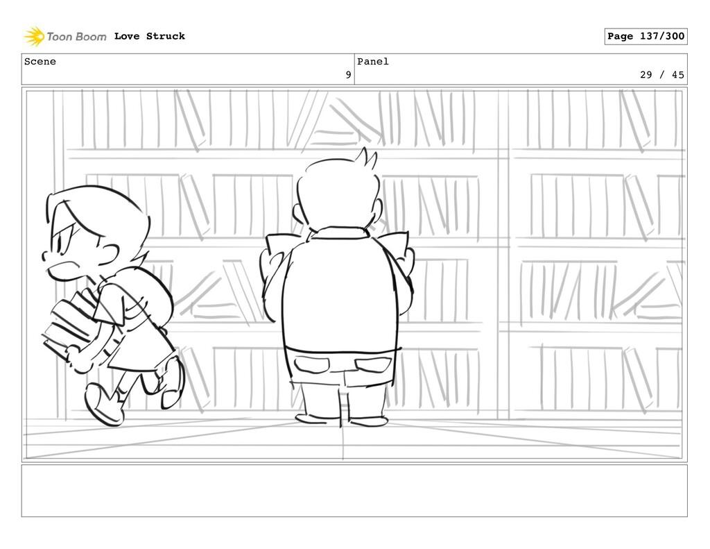 Scene 9 Panel 29 / 45 Love Struck Page 137/300