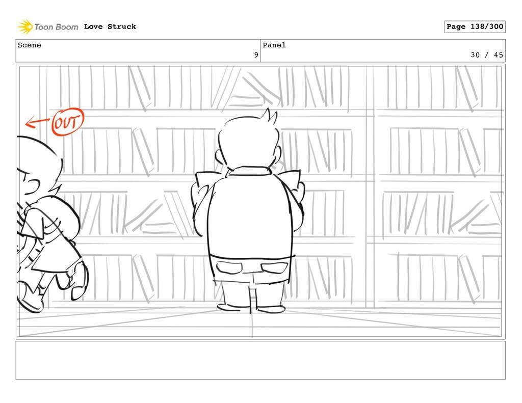 Scene 9 Panel 30 / 45 Love Struck Page 138/300