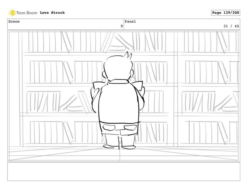 Scene 9 Panel 31 / 45 Love Struck Page 139/300