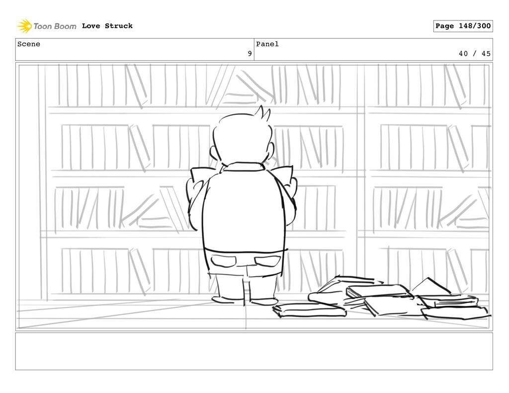 Scene 9 Panel 40 / 45 Love Struck Page 148/300
